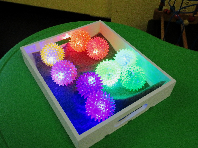 Flashing Textural Balls