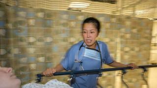 Nurse in ER