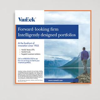 VanEck advertising for Barrons