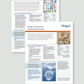 Magni Global factsheets