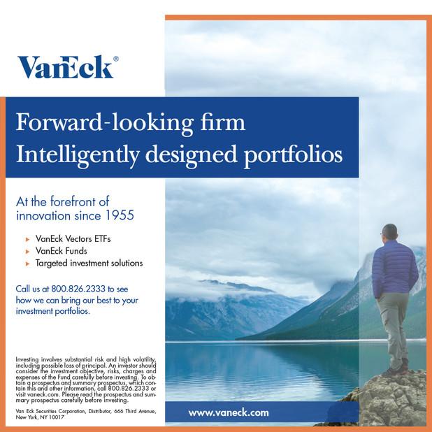 VanEck advertising campaign