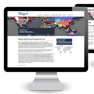 Magni Global web design