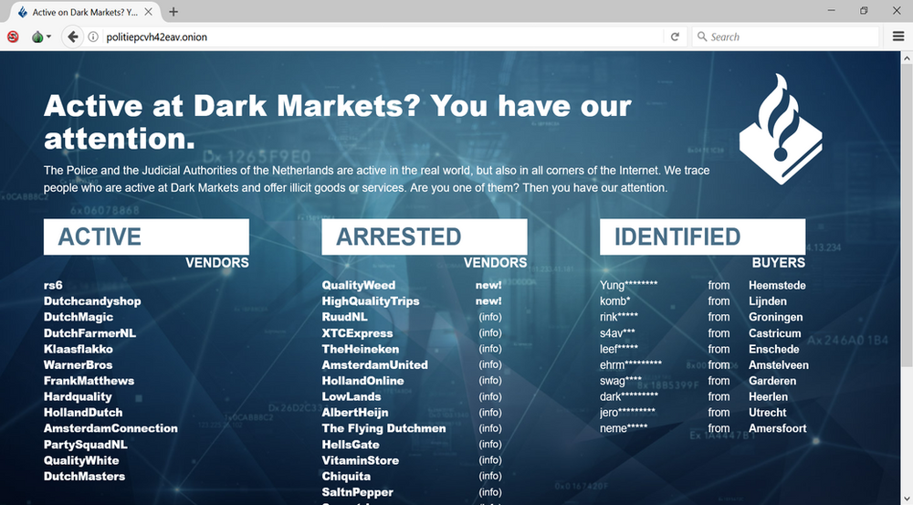 news darknet hyrda вход