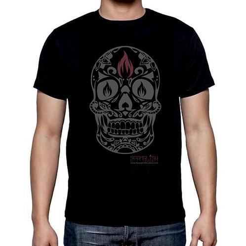 """""""Black Label Calavera"""" Men's T-Shirt"""