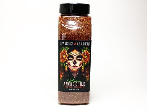 Ancho Chile BBQ Rub 1 1/2 lbs Bottles