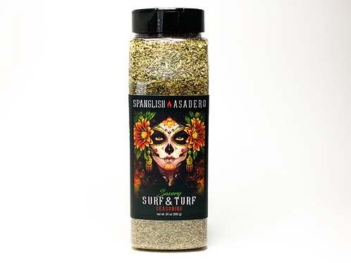 Surf & Turf Seasoning 1 1/2 LBS BOTTLES