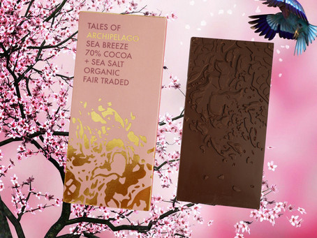 TALES OF ARCHIPELAGO SEA BREEZE 70% COCOA & SEA SALT