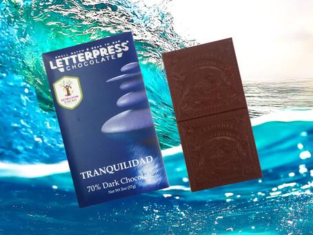 LETTERPRESS TRANQUILIDAD BOLIVIA DARK 70%