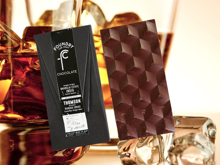 FOUNDRY 70% INDIA ANAMALAI ESTATE INFUSED WITH THOMSON WHISKY MANUKA SMOKE