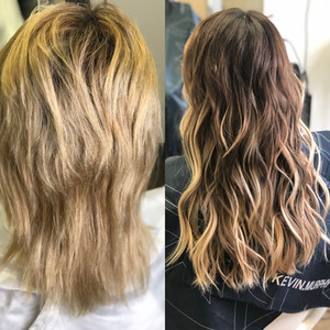 From Blonde To Brunette