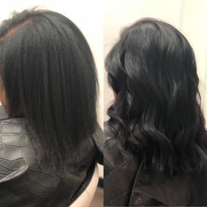 I-Tip Extensions Natural Hair