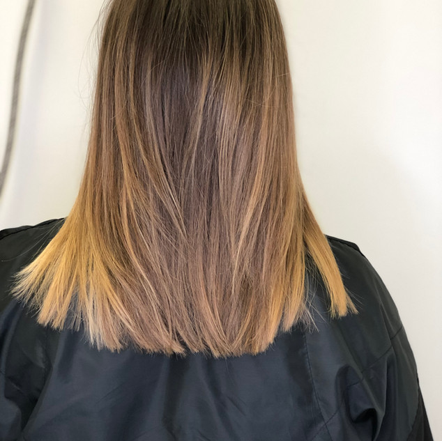 Soft Layering On Straight Hair