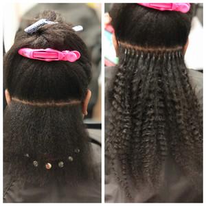 Mahari Raw I-Tips For Natural Hair