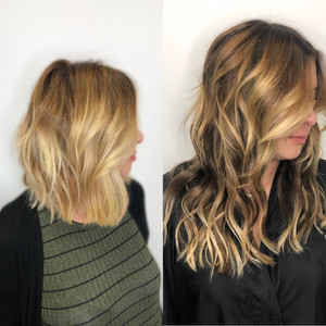 Color, Balayage & I-Tip Extensions