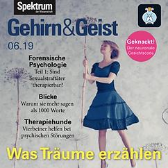 Hörbuch Spektrum Gehirn und Geist Ausgabe 06.19 gelesen von Marit Persiel