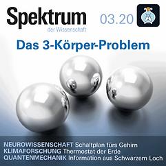 Hörbuch Spektrum der Wissenschaft Ausgabe 03.20 gelesen von Marit Persiel