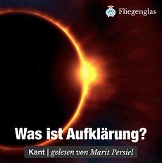 Kostenfreies Hörbuch Kant - Was ist Aufklärung? - Gelesen von Marit Persiel