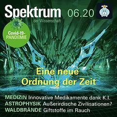 Hörbuch Spektrum der Wissenschaft Ausgabe 06.20 gelesen von Marit Persiel