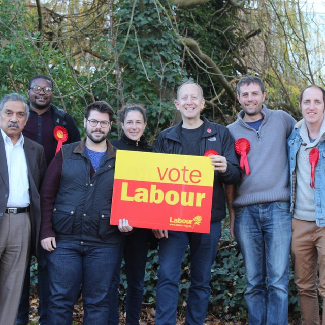 Back in Borehamwood campaigning with council candidates