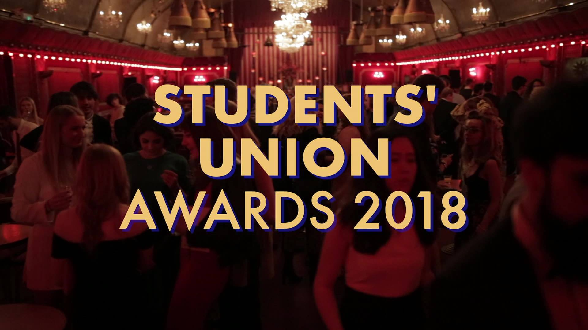Students' Union Awards 2018