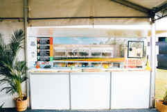 Can Van VIP private bar at Winton's Way Out West Fest