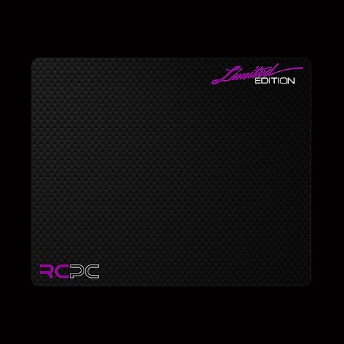 Purple-White-Carbon Fibre GT Sport Mouse Pad