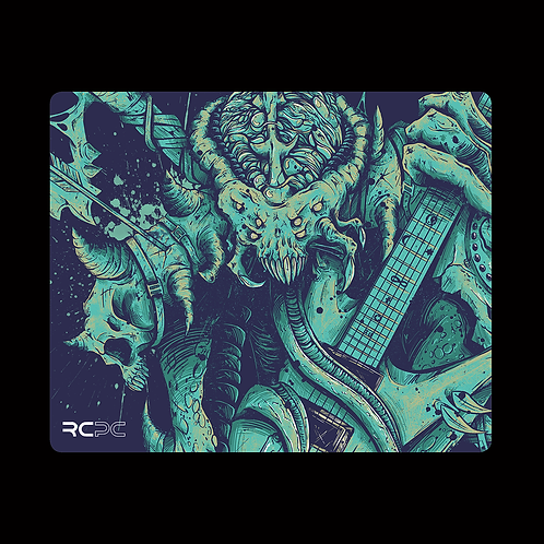 Axe Of Destiny Blue Mouse Pad