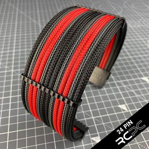 Black, Italian Red and Carbon BTI Cable Extension Set