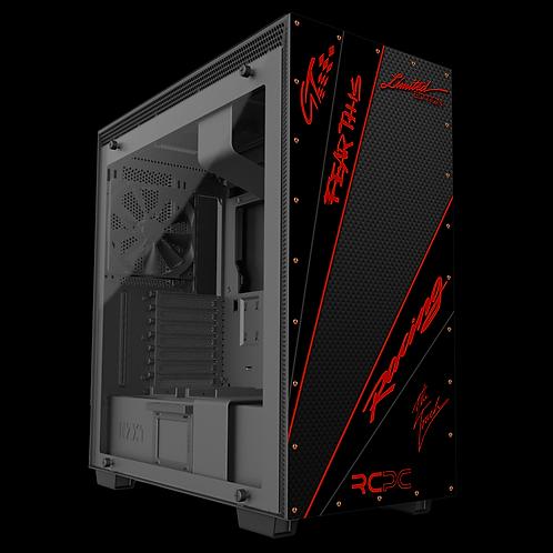 Dark Red-Carbon Fibre-Black GT Sport Wrap
