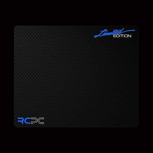 Blue-White-Carbon Fibre GT Sport Mouse Pad