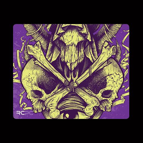 Cursed Purple Mouse Pad