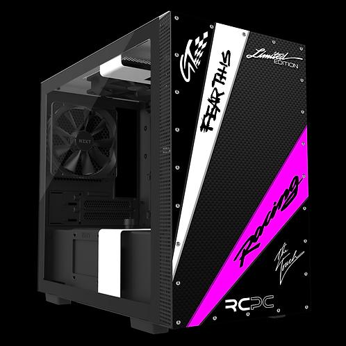 NZXT H210 Black-Pink-White-Carbon Fibre GT Sport Wrap