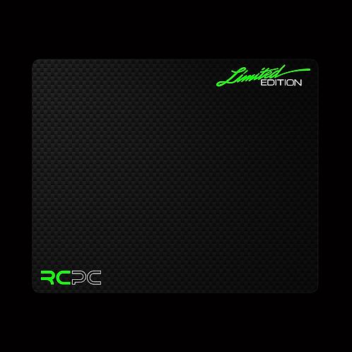 Lambo Green-White-Carbon Fibre GT Sport Mouse Pad