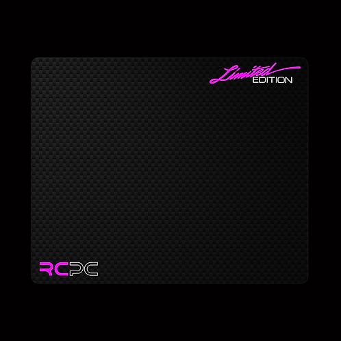 Pink-White-Carbon Fibre GT Sport Mouse Pad