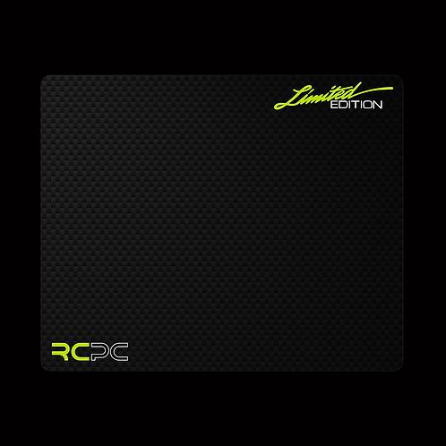 Zingy Lime-White-Carbon Fibre GT Sport Mouse Pad