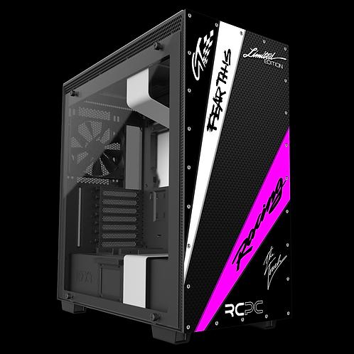 Black-Pink-White-Carbon Fibre GT Sport Wrap