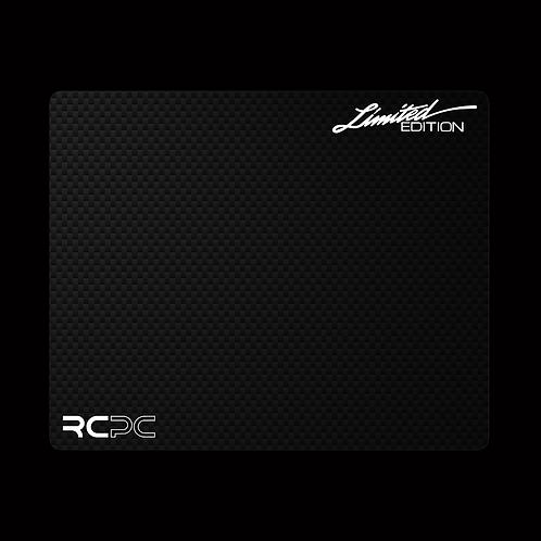 White-Carbon Fibre GT Sport Mouse Pad
