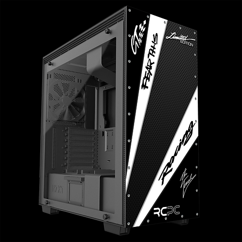 White-Carbon Fibre-Black GT Sport Wrap