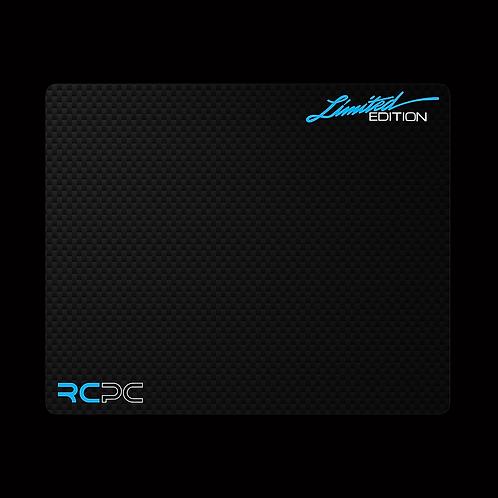 Turquoise-White-Carbon Fibre GT Sport Mouse Pad