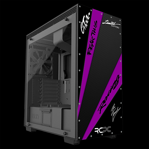 NZXT H710 Purple-Carbon Fibre-Black GT Sport Wrap