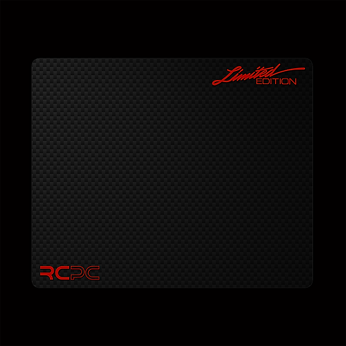 Dark Red-Carbon Fibre GT Sport Mouse Pad