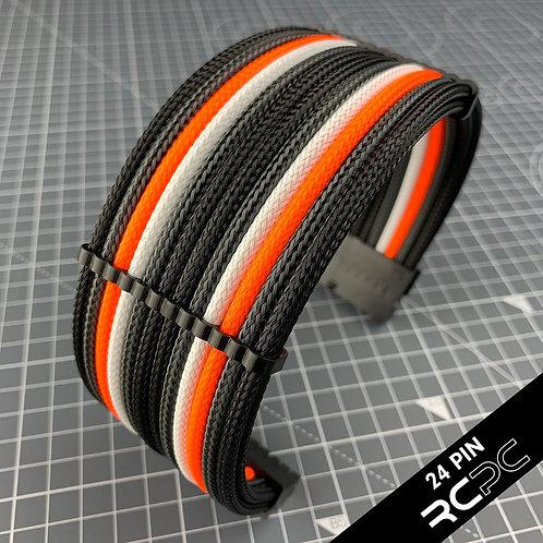 Carbon BTI, Black, Lava Orange and XXX-White Cable Extension Cable Extension Set