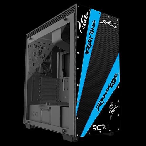 Black-Turquoise-Carbon Fibre GT Sport Wrap
