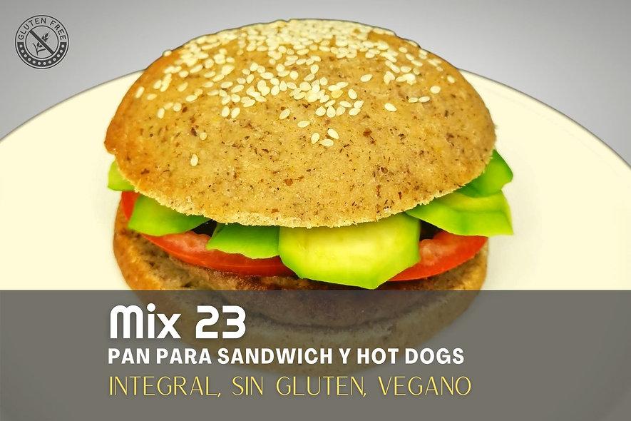 Pan Sandwich Mix 23 - 6 unidades