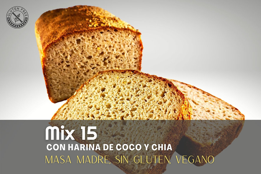 Pan Artesanal Mix 15