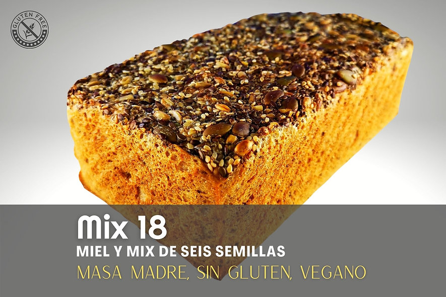 Pan Artesanal Mix 18