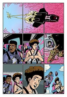 Explosion High. Lines: Norrie Miller. Script: Charlie Etheridge-Nunn