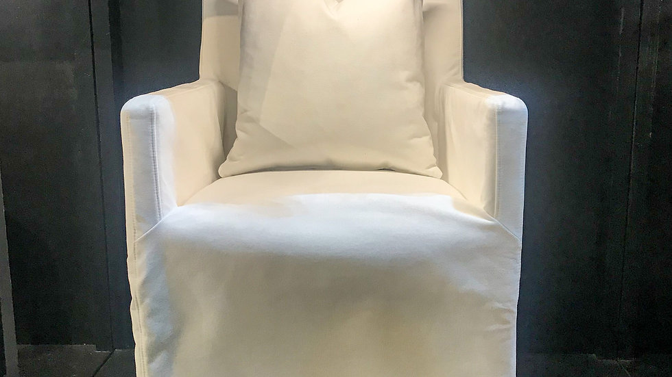 Shell Slipcover Dining Chair