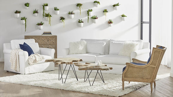 Drift Nesting Coffee Table - Gray     Te