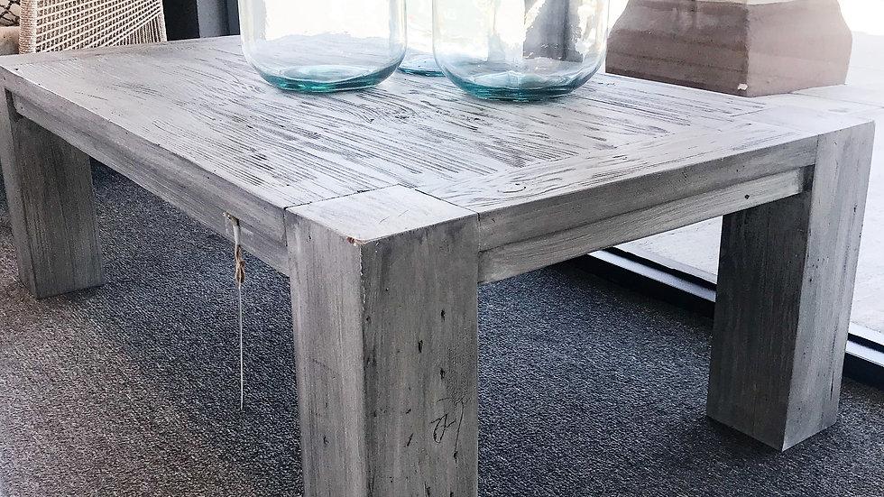 Block Leg Coffee Table